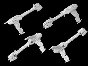 (Armada) Modified Nebulon B2 Frigate in White Natural Versatile Plastic