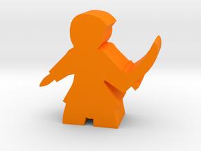 Damas Assassin Meeple in Orange Processed Versatile Plastic