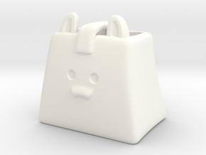 CatBag in White Processed Versatile Plastic