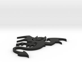 Little devil in Black Natural Versatile Plastic