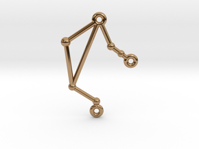 Libra in Polished Brass