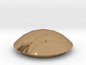 Door handle 2 in Polished Brass