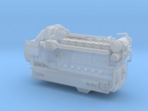 4mm Sulzer 12 LDA 28-C-1 REV2 in Smooth Fine Detail Plastic