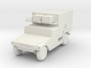 Humvee ver 8 in White Natural Versatile Plastic