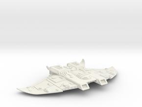 Protectorate Defender MK I, Battlefleet Cruiser se in White Natural Versatile Plastic: Small