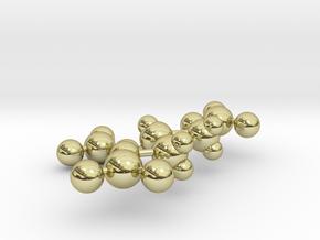 Nitroglycerin in 18k Gold Plated Brass