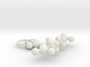 Nitroglycerin(ring added) in White Natural Versatile Plastic