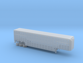 1/160 3 Axel 53' Livestock Trailer in Frosted Ultra Detail