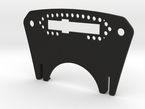 Pro-Race Mounting Plate for-Accuforce Sim Wheel in Black Strong & Flexible
