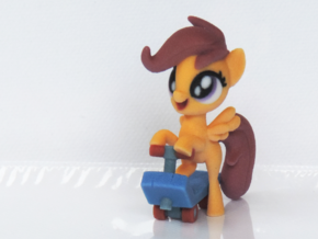 Scootaloo in Full Color Sandstone