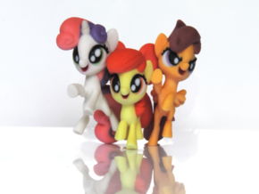 Cutie Mark Crusaders in Full Color Sandstone