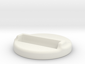 Iphone5 Dock in White Natural Versatile Plastic
