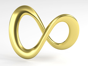 Endless-Infinite Symbol in 18k Gold