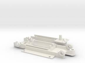 LanciaBeta Typ2 in White Natural Versatile Plastic