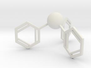 Triphenylphosphine in White Natural Versatile Plastic
