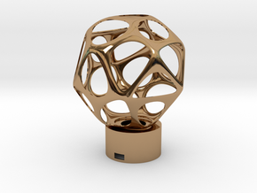 Lamp voronoi sphere1 in Polished Brass