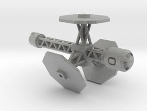 Spaceship (Type 05) - High Frontier in Metallic Plastic
