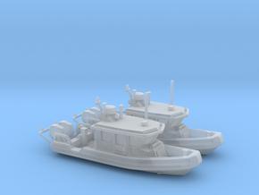 Defender 250 Rigid Inflatable Boat (1:148) in Smoothest Fine Detail Plastic: 1:350