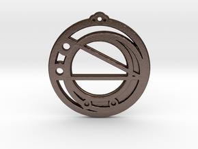Virgo in Matte Bronze Steel