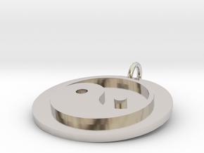 33589 in Rhodium Plated Brass