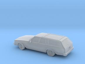 1/87 1980 Chevrolet Malibu Station Wagon  in Smooth Fine Detail Plastic