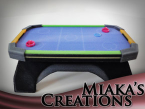 Mini Air Hockey Table in Full Color Sandstone: Medium