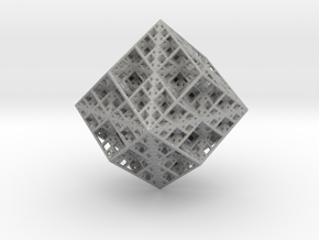 Koch Rhombododecahedron in Aluminum