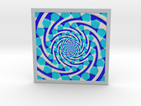 0180 Optical Illusion picture B (10cm) #006 in Full Color Sandstone