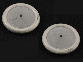 1/32 Albatros Tireless Wheels (2 pack) in Frosted Extreme Detail