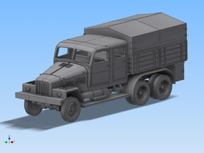 LKW IFA G5 Bautruppwagen 1:120 in Smooth Fine Detail Plastic