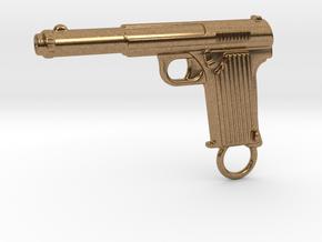 Astra gun in Natural Brass