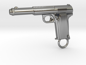 Astra gun in Fine Detail Polished Silver