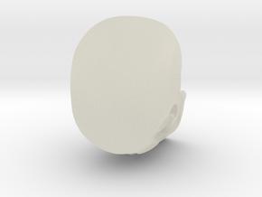 Skull 2 in Transparent Acrylic