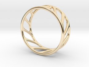 Cool Ring One in 14k Gold Plated Brass
