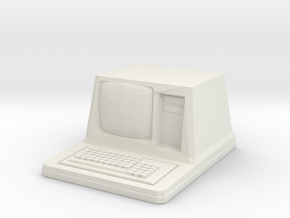 Old'ish Sci-Fi computer in White Natural Versatile Plastic