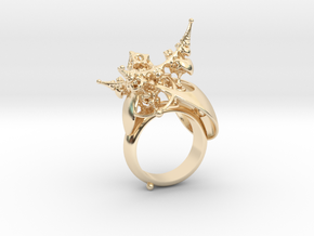 Planetarium Ring - 19.5mm in 14K Yellow Gold