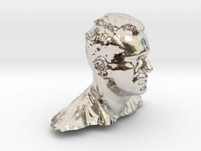14153 in Rhodium Plated Brass