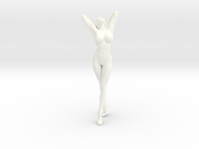 New Girl-004 scale 1/18 Passed in White Strong & Flexible Polished