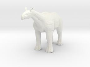 Paraceratherium 1 40(MEST 2015) in White Strong & Flexible