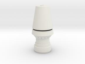 JP Rocket Bottom 2 Piece in White Natural Versatile Plastic