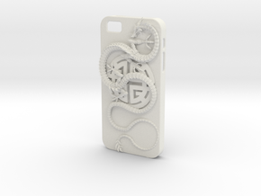 iPhone5s Case - Lu Prosperity Symbol with Dragon in White Natural Versatile Plastic