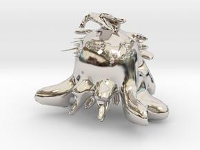 18574 in Rhodium Plated Brass