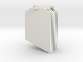 DJI Spotlight HeatSink in White Natural Versatile Plastic