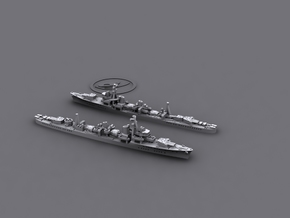 1/3000 IJN DD Shiratsuyu (2+3) in Smooth Fine Detail Plastic