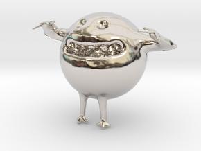 16693 in Rhodium Plated Brass
