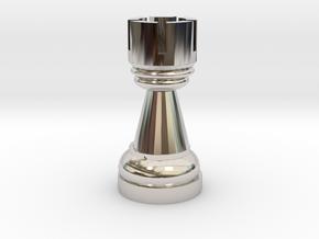 2078 in Rhodium Plated Brass