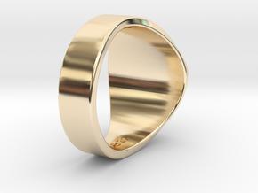 Muperball Wayne Ring in 14K Yellow Gold
