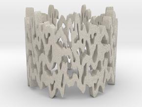 Life line Ring Size 7 in Natural Sandstone