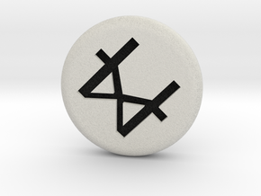 Runescape: Catalytic Rune in Full Color Sandstone