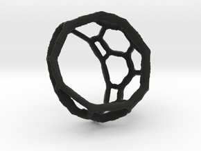 AtasevenRing in Black Natural Versatile Plastic